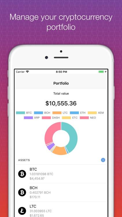 Crypto Index Portfolio screenshot-0