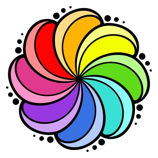 Colorflow Adult Coloring Book iOS App