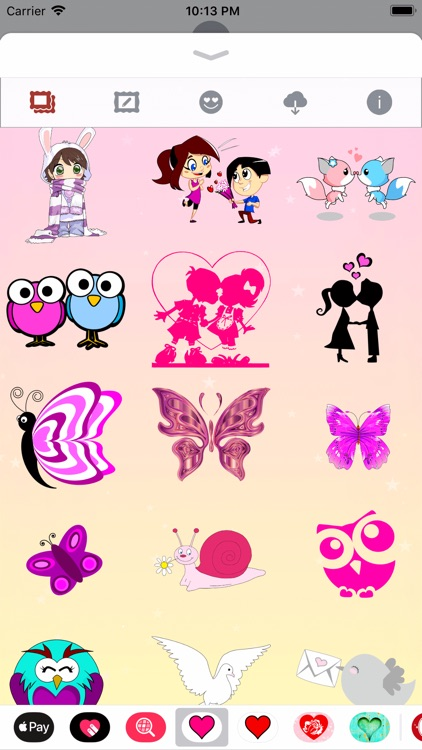 Pink Love • Emoji and stickers screenshot-7