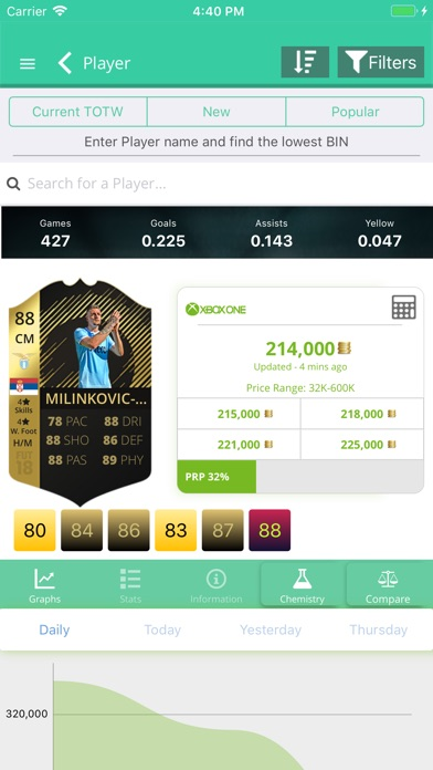 Screenshot for FUT 19 Draft, Builder - FUTBIN in Chile App Store