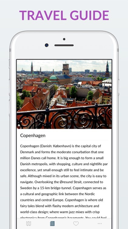 Copenhagen Offline Map & Guide