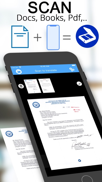 Scanner translator ترجمه مترجم screenshot-0