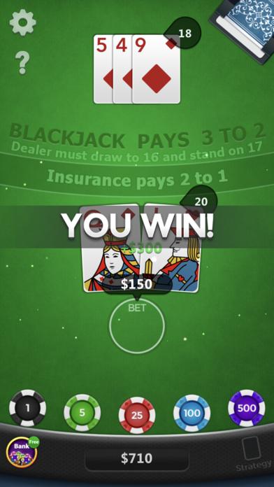 Blackjack ◇ screenshot 6