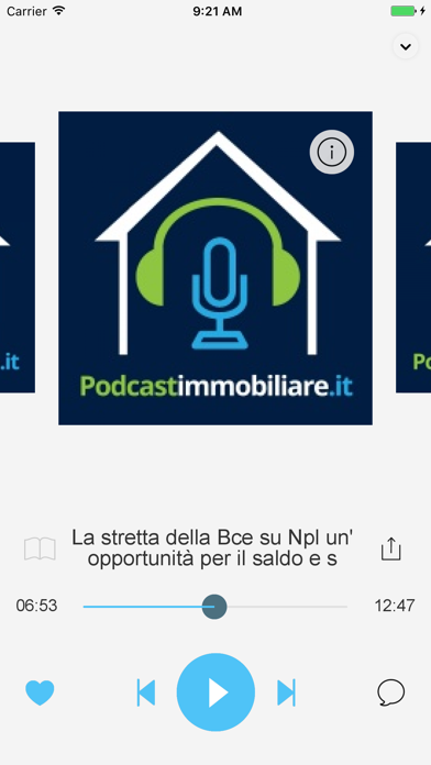 Screenshot of Podcast Immobiliare3