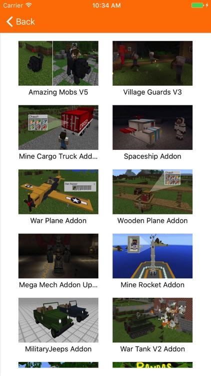 AddOns Maker for Minecraft PE screenshot-3