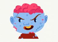Zombies Halloween Emojis