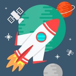 Star Run: Flying Rocket Game