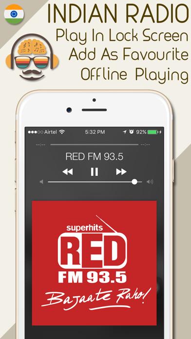India Radio - Live Indian Radio Stations screenshot four