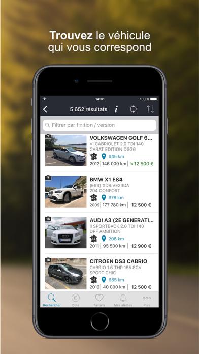download La Centrale - voiture occasion apps 1