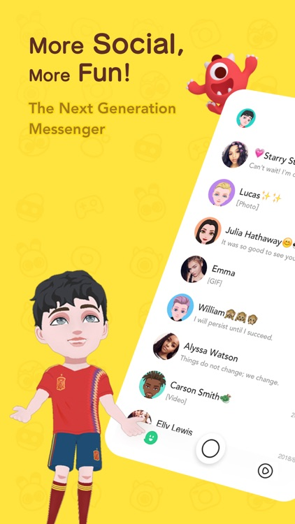 BOO! - Next Gen Messenger