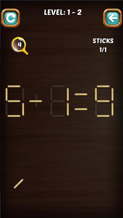 Math Stick Match Puzzle screenshot-8