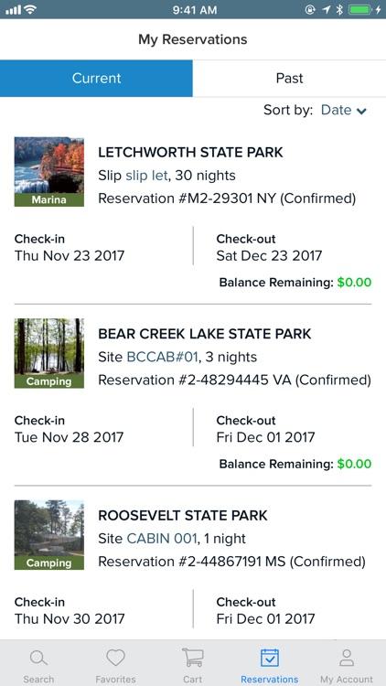 ReserveAmerica Camping screenshot-3