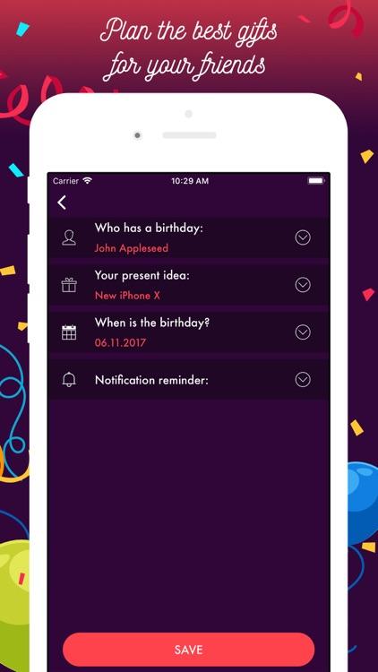 Birthday Countdown Timer