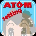 ATOM Setting icon