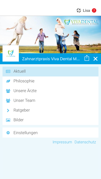Zahnarztpraxis Viva Dental screenshot two