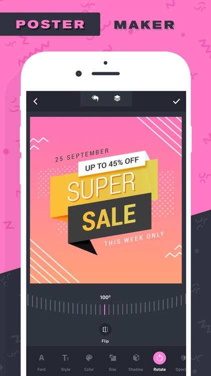 Poster Maker–Add Text to photo screenshot-5