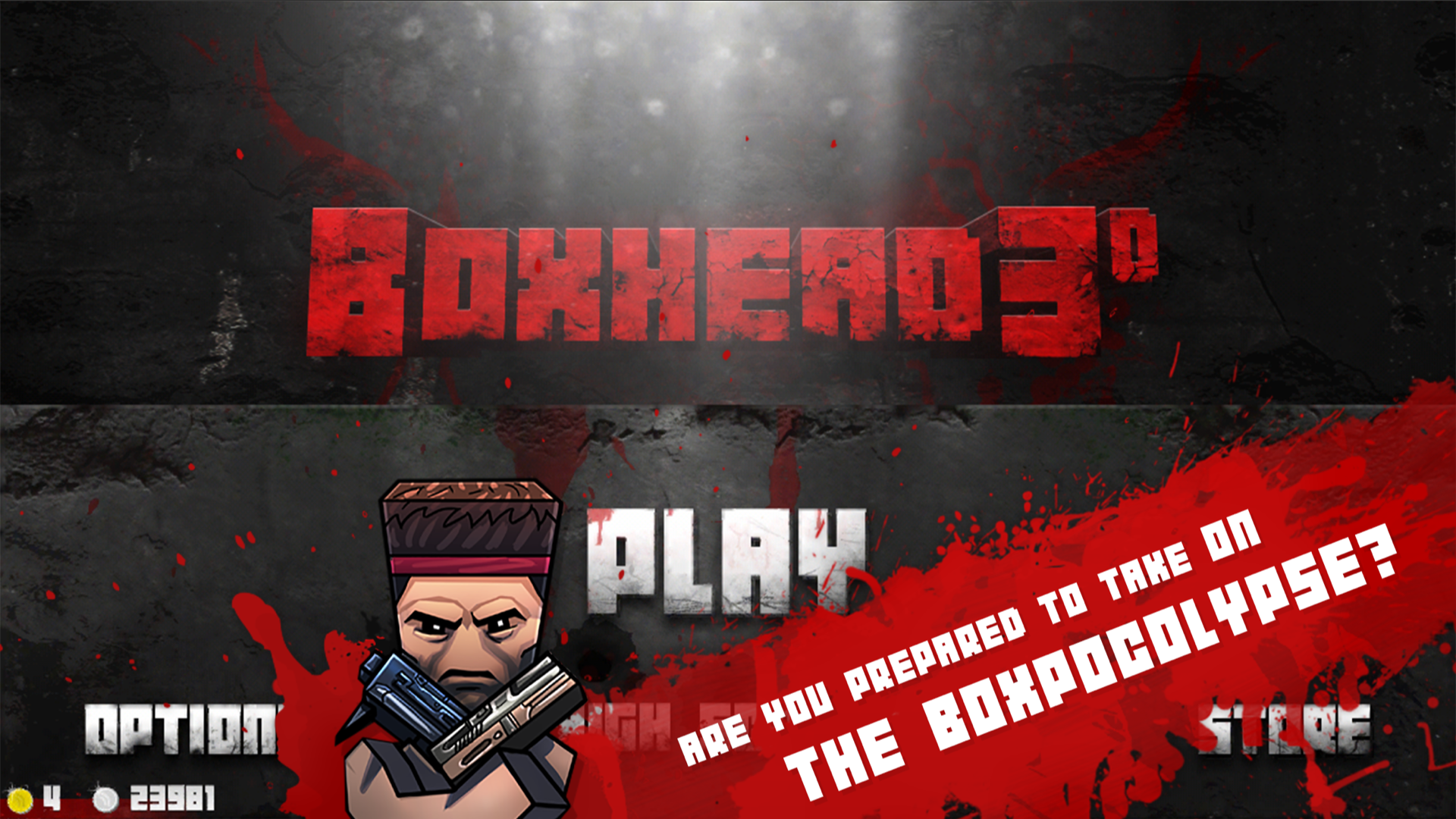 Boxhead: The Zombie Wars 3D screenshot 6