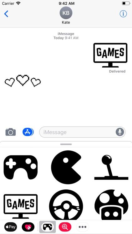 Gamer Stickers