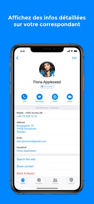 Truecaller dans l App Store b5feaabb578e