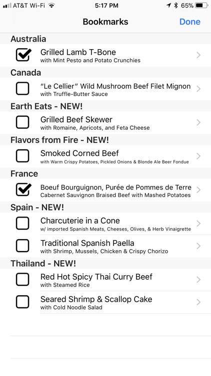 Mouse Memo Food & Wine screenshot-3