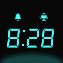 Bedside Clock - music alarms