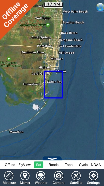Biscayne National Park - GPS Map Navigator screenshot-4