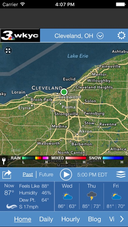 WKYC Weather screenshot-0