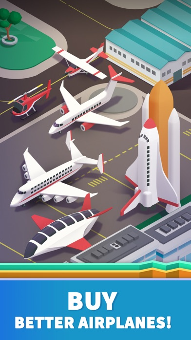 Idle Airport Tycoon - Planes Screenshot 3