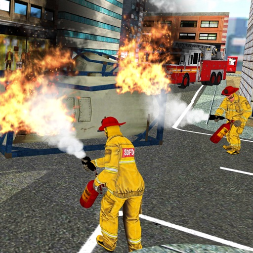 City Firefighting Rescue 3D
