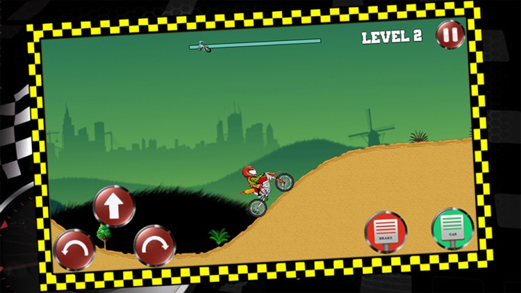 Night Hill Bike Racing screenshot-3