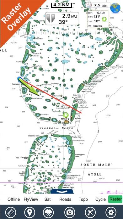 Maldives GPS Map NavigatorCaptura de pantalla de1