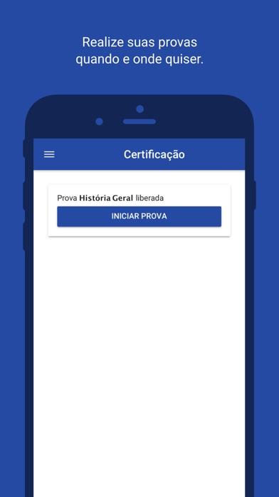Certificação ANEPS screenshot 1