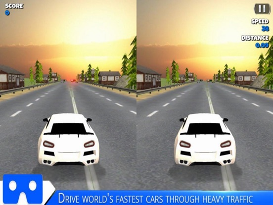 VR Racing Car Highway screenshot 5
