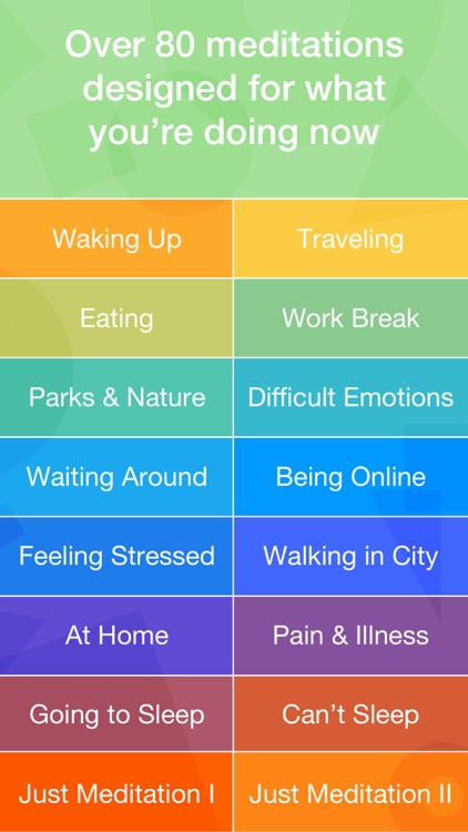 buddhify - modern mindfulness for busy lives screenshot-2