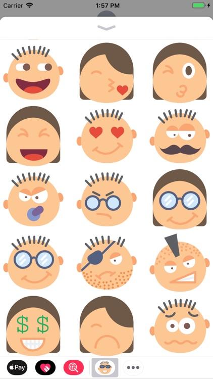 Faces: Smileys