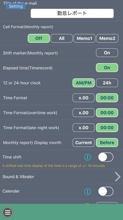 Work Log -Time sheet- screenshot-5