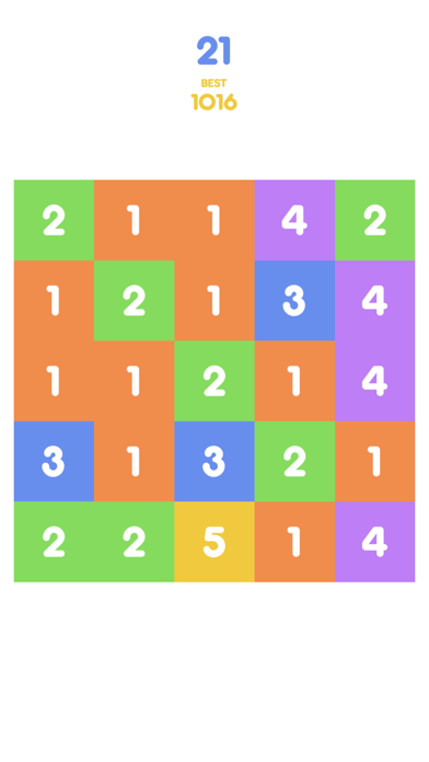 Number Tap - Merge Blocks screenshot one