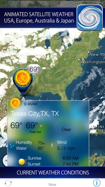 Hurricane - storm tracker + satellite radar
