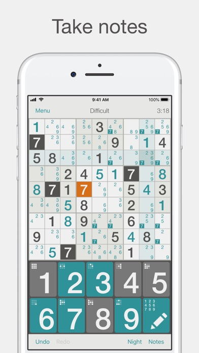 Sudoku review screenshots