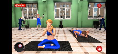 High School Fitness girl Games