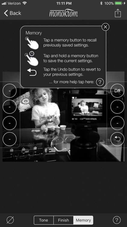 Monokrom B&W Photo Editor screenshot-3