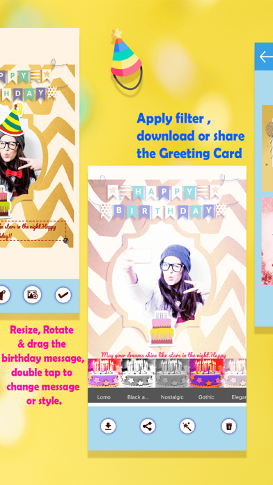 BirthdayGreetingCards & Frames screenshot four