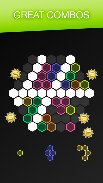 Hex FRVR - Drag the Hexa Block screenshot-3