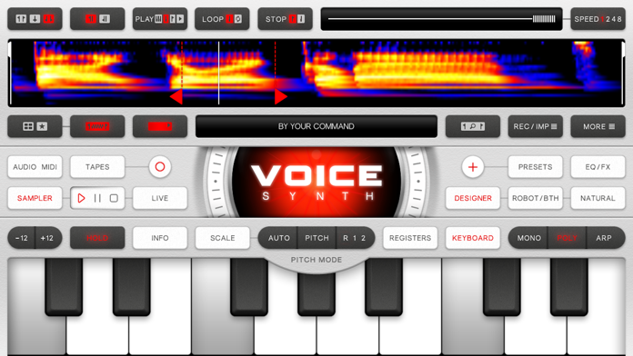 Voice Synth Modular Screenshot