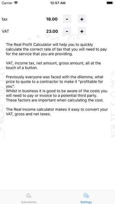 TaxCalc (lite) screenshot three