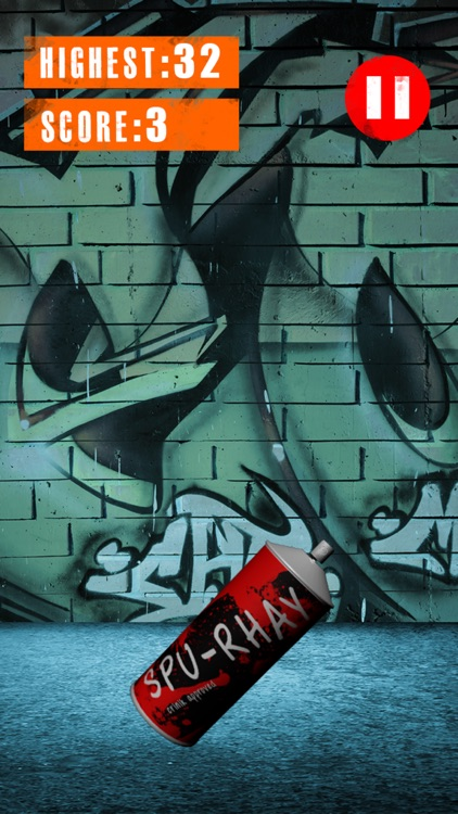 3D Graffiti Subway Spray Can Juggle Game