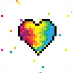 Pixel Sandbox Color by number