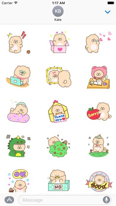 Animated Chow Chow Dog Sticker Screenshot