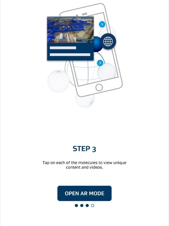 iPad Image of Sasol AR Experience