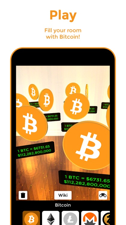 Bitcoin AR screenshot-3